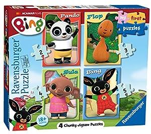 Ravensburger 6869 My First Puzzle Bing Bunny - Puzzles de Sierra de Puzzle (2, 3, 4 y 5 Piezas)