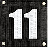 Tourna Windscreen Court Numbers - #11 Windscreen Court Numbers