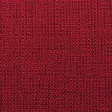 grob gewebter Bezugs-Stoff Diablo Chenille Struktur Polster Möbelstoff Web-Stoff melange premium Gewebe Bordeaux