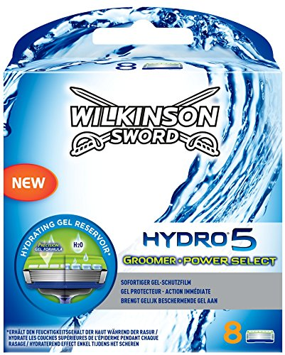 wilkinson-sword-hydro-5-groomer-power-select-mens-razor-blades-x8
