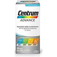 Centrum Advance Multivitamin & Mineral Tablets, 24 Essential Nutrients Including Vitamin D, Complete Multivitamin…