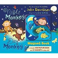 Night Monkey, Day Monkey Magnet Book (Magnet Books)