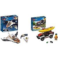 LEGO 60224 Satellite Service Mission & Kayak Adventure