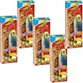 Nestor bird food for budgies with fruit, 5 x 2 packs of nibble bars by NESTOR