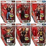All 6 - Completo Set (Uno De Cada) Mattel Elite Serie 48 Wrestling Figuras - Kalisto, Dolph Ziggler, Cactus Jack, Dean Ambrose, Erick Rowan,The Boogeyman
