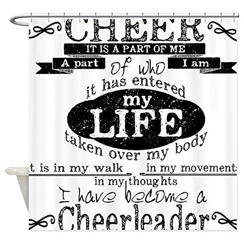 Kreidetafel Cheerleading–Dekostoff Vorhang für die (Passt Cheerleading)
