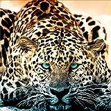 Leopard 5D Full Diamond Painting Embroidery DIY Craft Cross Stitch Home Decor