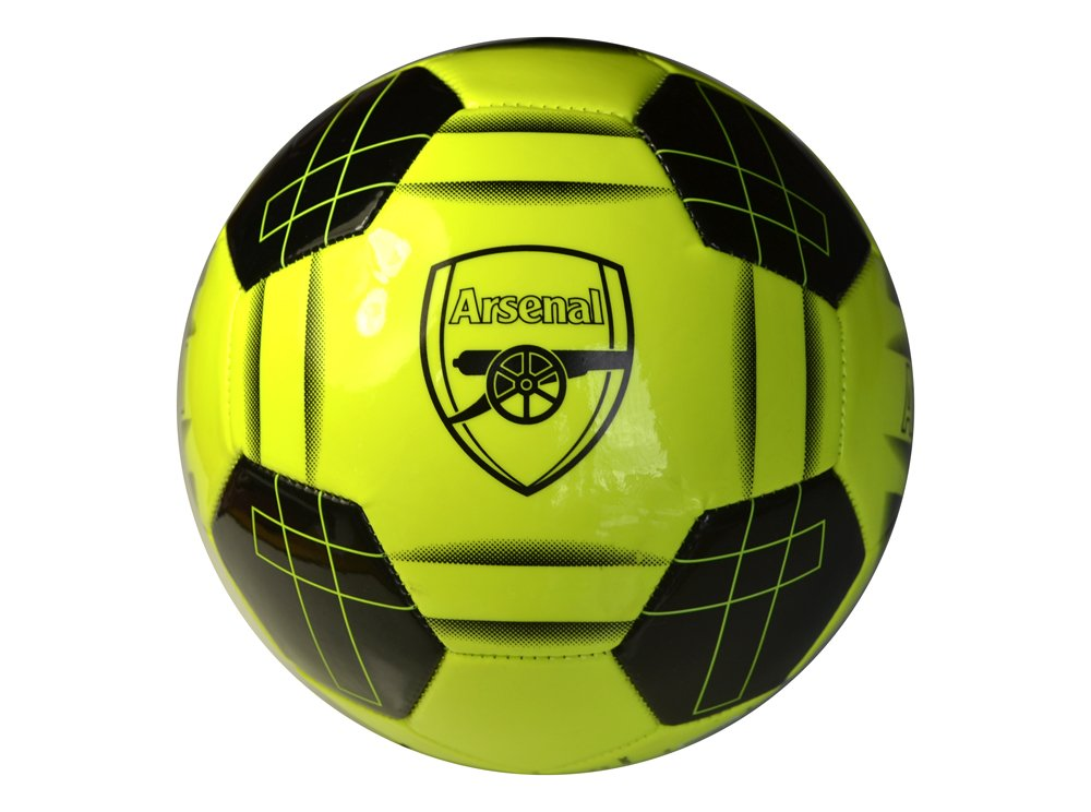 Arsenal F.C. – 100% Merchandise Ufficiale, Crest Fluo. Football