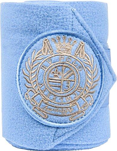 HV Polo Favouritas Fleece Bandagen 4er Set Klettverschluss Gr. VB/WB (breeze) - Fleece Polo