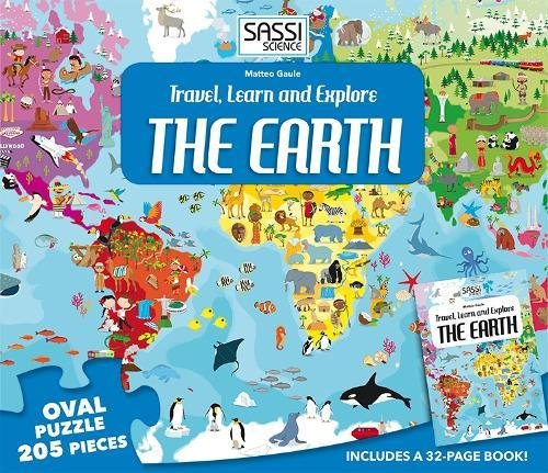 Sassi Travel, Learn and Explore The Earth Puzzle (Travel, Learn, Explore) por Matteo Gaule