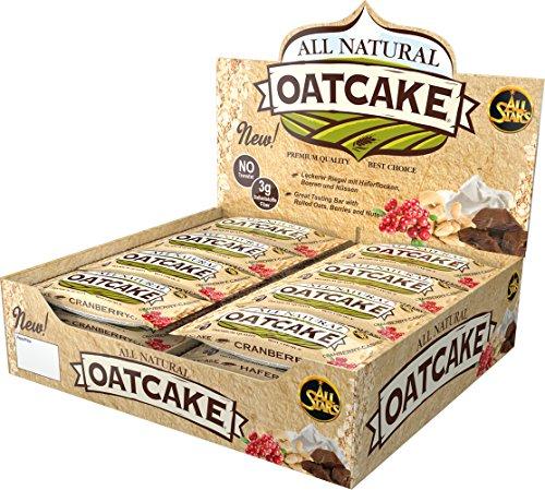 All Stars All Natural Oatcake Bar, Chocolate, 24er Pack (24 x 80 g) - 9