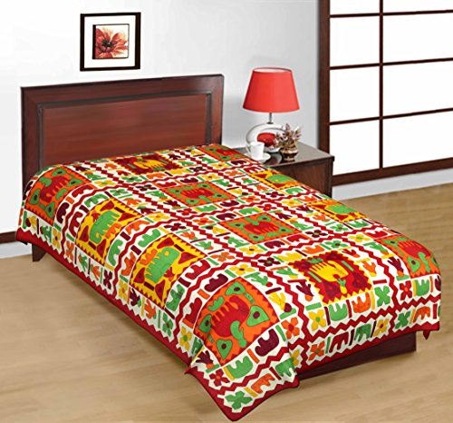 COTTON BED SHEET 100 Cotton Jaipuri Sanganeri Floral