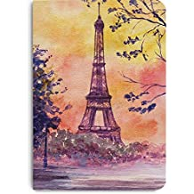DailyObjects Paris Watercolor A5 Notebook Plain