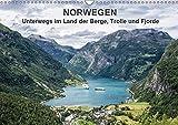 Norwegen - Unterwegs im Land der Berge, Trolle und Fjorde (Wandkalender 2019 DIN A3 quer): Fotos aus Norwegen (Monatskalender, 14 Seiten ) (CALVENDO Natur)
