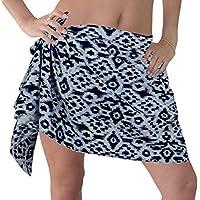 bikini coprire scialle sciarpa mini metà involucro sarong di cotone costumi da bagno costume da bagno gonna