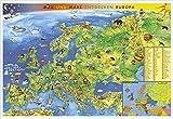 Kindereuropakarte
