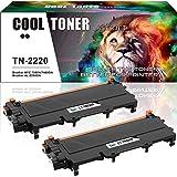 Cool Toner 2 Pack 10400 Seiten Kompatibel für TN 2220 TN2220 Tonerkartusche für Brother MFC 7360N Toner MFC-7360N MFC