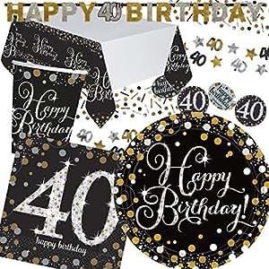 Mauder set da 36 piatti di carta tovaglioli e bicchieri for Piatti e bicchieri per feste bambini