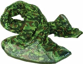 Tactical Scrim Net Military Scarf Combat Face Veil Army Sorgo Netting Flecktarn Camo