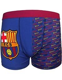 FC Barcelona - Calzoncillos oficiales de estilo bóxer - Para niños - Con el escudo del club