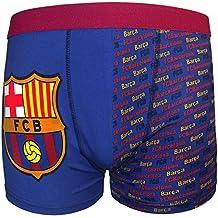 FC Barcelona - Calzoncillos oficiales de estilo bóxer - Para niños - Con el  escudo del 811c9020b07