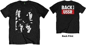 Générique Beatles in The USSR (Back Print) T-Shirt Homme