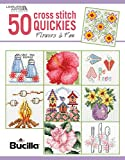 50 Xst Quickies Flowers (50 Cross Stitch Quickies)