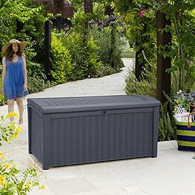Keter Cabinet Mehrzweckschrank Aufbewahrungsschrank Gartenschrank Garten 400 L von vidaXL bei Du und dein Garten