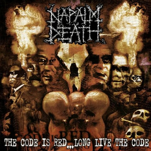 NAPALM DEATH: The Code Is Red.. . Long Live The Code (Audio CD)