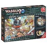 Jumbo Spiele 19145 - Wasgij Retro Mystery 1: Die Spur Verlieren! 1000 Teile Puzzle