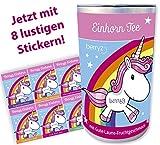 Einhorn Tee + DAS Original aus der Stadt der Einhörner + Das Geschenk für Einhorn-Fans + 8 lustige Sticker (Gute-Laune-Geschmack)