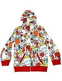 My Little Pony Rainbow Dash Fun Pattern Kleinkind weiß Hoodie Sweatshirt