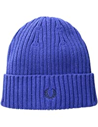 Fred Perry Ribbed Homme Beanie Bleu