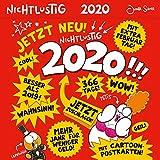 Nichtlustig Postkartenkalender 2020