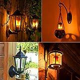 Aoweite Led Glühbirne E27 Flamme Lampe Flackerlicht LED Flamme Birne Leuchtmittel für Ferienhotel / Bars / Dekoration