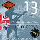 Rotosound Nickel Heavy Gauge Electric Guitar Strings (13 17 26 34 44 54)