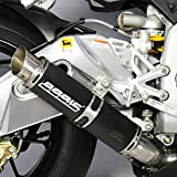 Auspuff Bodis GP1 Slip-On Edelstahl schwarz Aprilia RSV4 R aPRC 1000 RK 11-14