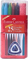 Faber - Castell Erasable Crayons (Pack Of 25)