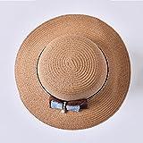 CJC Sol Sombreros Señoras Mujer UPF50+ Amplio Borde Verano Pescador Gorra Viajar playa Packable Plegable ( Color : 5 )