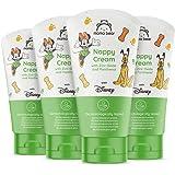Mama Bear - Disney - Crema para el cambio de pañal con óxido de zinc y pantenol - Paquete de 4 x 150ml