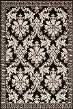 Lalee Tappeto Moderno; Moquette; Carpet Design Funky 1068 Silber 80cmx150cm