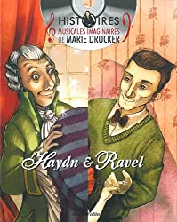 Pack 2 volumes : La petite Danseuse de Maurice Ravel ; La Perruque de Joseph Haydn (1CD audio)