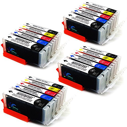 20 Office Channel24 patronen kompatibel zu Canon 570 571 für Canon PIXMA TS6050 TS6051 TS6052 TS5050 TS5051 TS5053 TS5055 MG5750 MG5751 MG5752 MG5753 MG6850 MG6851 MG6852 MG6853