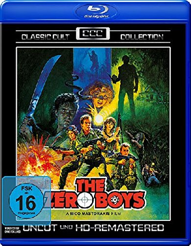 The Zero Boys - Uncut/Remastered - Classic Cult Collection [Blu-ray] Panasonic Pal-tv