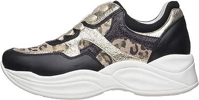 Nero Giardini E010594D Sneakers Donna in Pelle E Tela