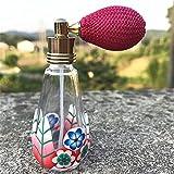 JwlqAy Kosmetische Behältervorratsflasche Blumen Reise Flasche Schönheit Leere Parfüm Ballon Flasche Luft Reise Größe Flasche (6ML zufällige Farbe)