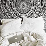 Elephant Throw Tapestry, Indian Mandala Wall Hanging, Bohemian Decor, Dorm Room Decorations, Hippie Wall Urban Tapestries, Cotton Beach Blanket, Boho Picnic Throw, Cotton Bedding by Trade Star Exports