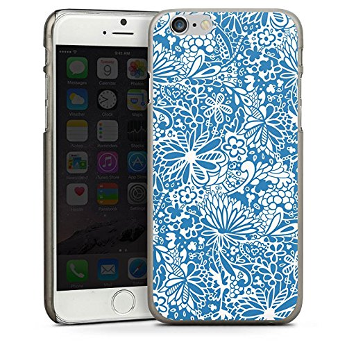 Apple iPhone 6 Housse Étui Silicone Coque Protection Motif Motif Ornements CasDur anthracite clair