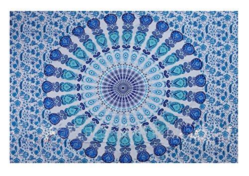 Tapisserie Murale Tenture Indienne Mandala Tapis Mural Indien Boheme Tissu Mural Tentures Murales Indiennes Toile Murale Mandala Motif Tapisserie Hippie Chambre Decorative Serviette De Plage Couvre Lit Mandala Drap De Plage Ethnique Bohemian Tapestry Tapis De Yoga 200CM X 150CM
