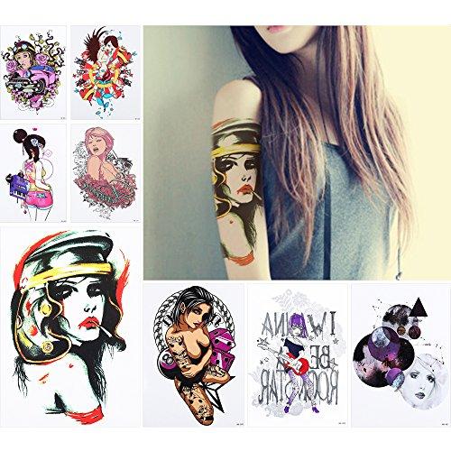 8-fogli-body-art-tattoo-sticker-donne-uomini-temporaneo-impermeabile-belle-amusement-design-bellezza